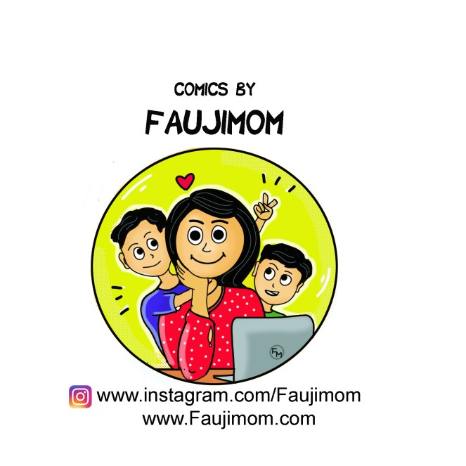 This image has an empty alt attribute; its file name is faujimom-comics.jpg
